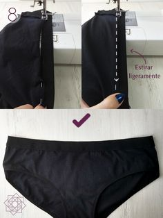 Sewing Tutorial Basic panties How to sew underwear. How to make panty cheeks. Easy underwear Easy sewing step by step. Sewing Patterns Free, Clothing Patterns, Diy Wedding Dance Floor, Diy Fashion, Fashion Design, Womens Fashion, Design Blog, Two Piece Outfit, Classic Outfits