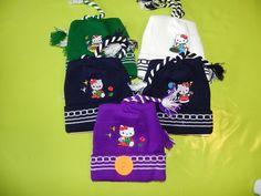 Ref CDP063 Bonnets «Hello Kitty». 7€