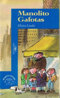 Que recordos tan maravillosos dun libro divertidísimo! 'Manolito Gafotas'
