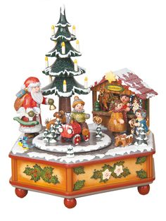 vintage christmas music boxes - Google Search
