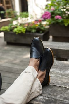 Singh and Son Kishtee Leather Slip Ons