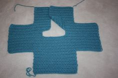 Jenee & Jason: Baby It's Cold Outside Crochet Baby Sweater
