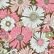 Papier Peint Floral Rose