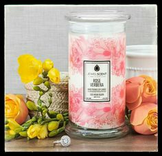 Jewelscent has a new scented candle! Its called Rose Verbena! To get yours go to www.jewelscent.com/LillieFrancina  and save 10% by using GIFT10 at checkout!