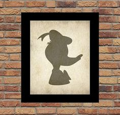 "Disney silhouette Donald Duck silhouette by myfavoritedecor - for my ""Donald"""