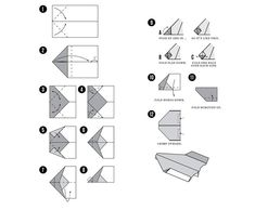 How to make A Good or Cool paper Airplane     THIS WAY  Pinterest