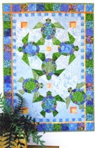 Java House Quilts: Shell We Dance - Quilt in a Day / Quilt Patterns