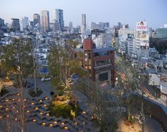 """Architizer Blog » In Tokyo, A Shopping Mall With A """"Roof Forest"""" By Hiroshi Nakamura"""