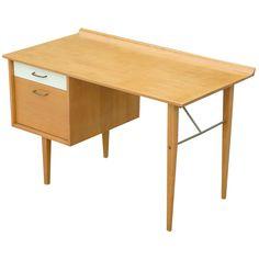 Milo Baughman Desk | From a unique collection of antique and modern desks at https://www.1stdibs.com/furniture/storage-case-pieces/desks/