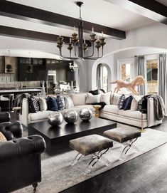 There are various design trends to pick from in regards to ideas for living room dAcor. Regardless of what style design your house is, there are various living room decorating ideas to select from. Glam Living Room, Living Room Modern, Living Room Interior, Home And Living, Living Room Furniture, Living Room Designs, Living Room Decor, Living Spaces, Living Rooms