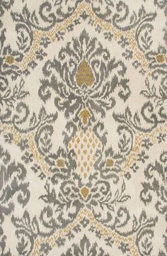 Rizzy Home 'Damask' Wool Area Rug   Nordstrom