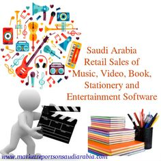 Retail Sales of #Music, Video, Book, Stationery and #Entertainment Software Specialists in #SaudiArabia