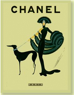 chanel 1940's