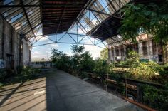 Abandoned trainstation in Germany shot by Mar Leen.