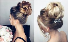 Elstile Long Wedding Hairstyle Inspiration | Deer Pearl Flowers