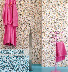Agatha Circus by Pamesa | #design Agatha Ruiz De La Prada #colour #bathroom