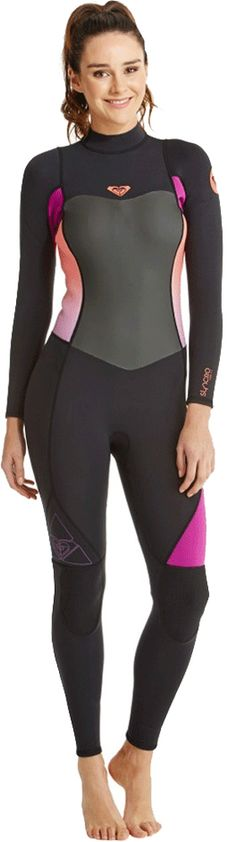 3/2mm Women's Roxy SYNCRO Sealed Full Wetsuit