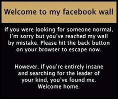 Yep, of I had facebook, this would be me