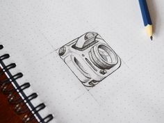 Sketch designed by Aurélien Salomon ➔ for Orizon: UI/UX Design Agency. Connect with them on Dribbble; the global community for designers and creative professionals. Sketch Design, Icon Design, Web Design, Logo Design, Graphic Design, Design Ideas, Drawing Sketches, Drawings, Sketching