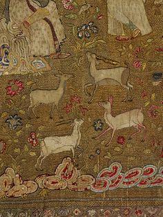 tent hanging, unknown artist, delhi, india, 17th century  Quelle: cocoroachchanel