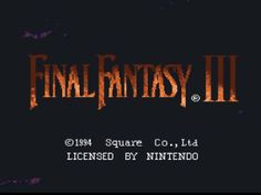 Review of Final Fantasy 6