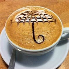 Kahve Falında Şemsiye