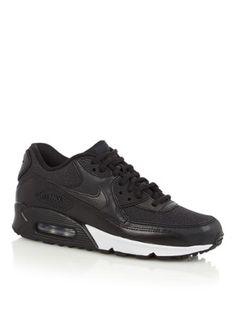 78017e5ece0c3 Coole Nike Sneaker Air Max 90 zwart (Zwart) Sneakers van het merk Nike voor