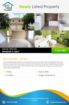 2946 SW 139TH AVE, MIRAMAR FL 33027