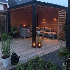 Pavillon Ideas De Piscina, Ideas Terraza, Outdoor Pergola, Outdoor Rooms, Outdoor Living, Back Garden Design, Modern Garden Design, Backyard Patio Designs, Backyard Landscaping