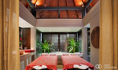 The Pavilions Phuket, Thailand: Massage room in the penthouse. Wellness Resort, Wellness Spa, Massage Room Decor, Busy City, Pent House, Pavilion, To My Daughter, Relax, Phuket Thailand