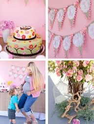 Baby Shower Ideas for girl with owl theme | Owl themed baby shower idea (girl). June
