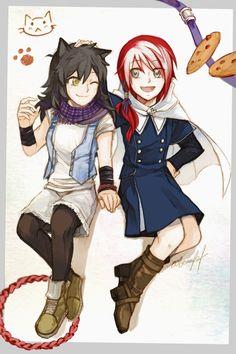 Introducing Mei and Li of rwby Rwby Fanart, Rwby Anime, Anime Girlxgirl, Yuri Anime, Rwby Comic, Cute Gif, Funny Cute, Rwby White Rose, Rwby Volume