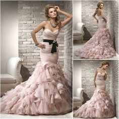 45 Best Wedding Dress And Gowns with regard to Best Wedding Dress 2013 Wedding Dress 2013, Wedding Dress Sash, Wedding Dresses With Straps, Wedding Dress Pictures, Pink Wedding Dresses, Cheap Wedding Dress, Wedding Dress Styles, Wedding Gowns, Pink Dresses
