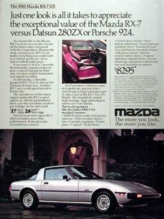 Mazda RX-7 GS (1980) - I wanted one of these SO bad at the time!