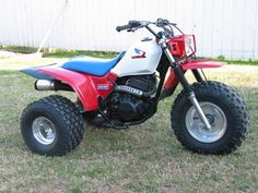 Model: ATC250sx. Make: Honda Year: 1985. Modifications: It has a K&N filter with a hole-sawed airbox lid, Supertrapp exhaust, rejetted carb and original ...