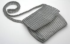 Recycled Pull Tabs, Pop Tabs, Pop Tops purse