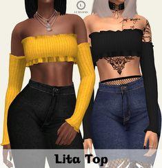 Lita Top at Lumy Sims • Sims 4 Updates