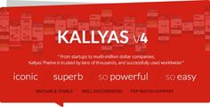 KALLYAS v4.0.9 - Responsive Multi-Purpose WordPress Theme - Themes24x7 - Free Premium Blogger and Wordpress Templates