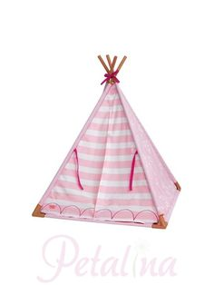 Our Generation Mini Teepee Set Doll Accessories - Petalina