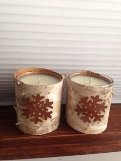 Soy Candles Scented in Rocky Mountain Yule Tide