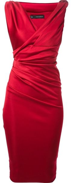 Spotted on Sale! DSquared Fitted Dress in Red #fashion #style