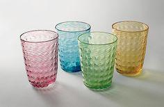 Double Twist Cups: Richard S. Jones: Art Glass Cups | Artful Home