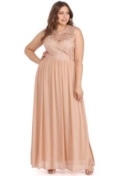 c23b3021c22 Plus Taupe Everly Sweetheart Chiffon Dress Everly Dresses