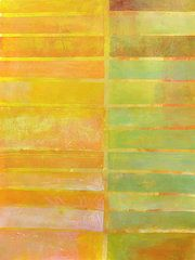 Jane Davies - Stripes Yellow