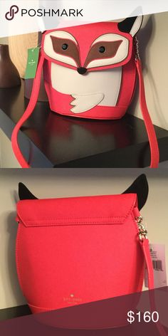 Kate spade fox purse Brand new with tags. Authentic and super cute kate spade Bags Crossbody Bags