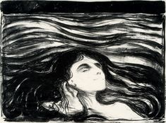 On the Waves of Love, Edvard Munch  1896