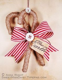 jute ornament | jute Christmas ornaments
