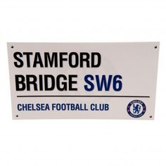 Chelsea Birthday Card Street Sign Crest New Official Licensed Football Product Uk Football, Chelsea Football, Gift Wrapping Supplies, Gift Wrapping Paper, 2 Birthday, Birthday Cards, Chelsea Fc, Stamford Bridge, Soccer Fans