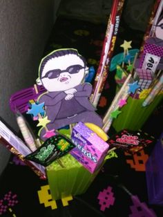 Gangnam Style Center Pieces
