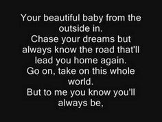 Lyrics Tim McGraw's My Little Girl-Pictures at the end! one of my father dances at my wedding ♥ someday!